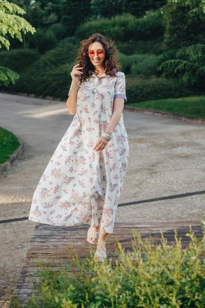 Cvjetna Maxi Haljina